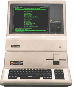A complete Apple /// system with Profile Hard Drive